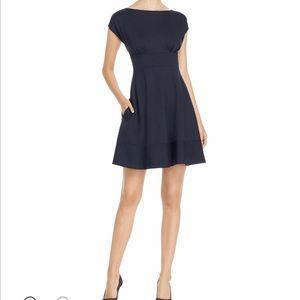 Kate Spade Fiona Ponte Navy Dress